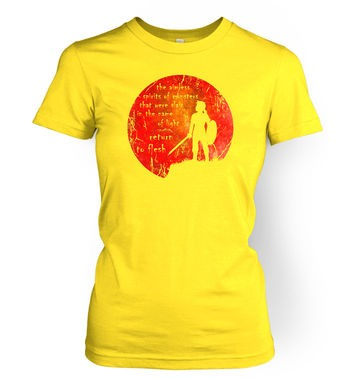 Blood Moon women's t-shirt