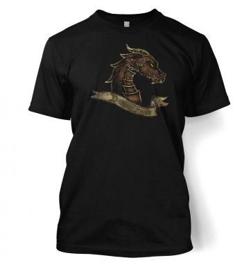 Bronze Dragonslayer men's t-shirt