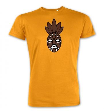 Brown Tribal Mask  premium t-shirt