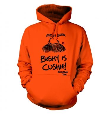 Bushy is cushie! - Adult Hoodie