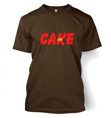 Cake is a lie Mens Tee