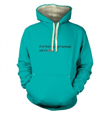 Call it a beta premium hoodie