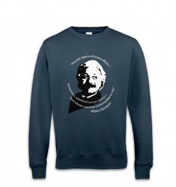 Capitalism Quote Einstein sweatshirt