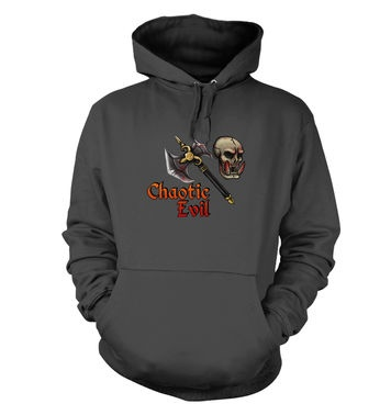 Cartoon Alignment Chaotic Evil hoodie - gaming hoodies