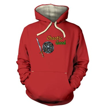 Cartoon Alignment Chaotic Good premium hoodie
