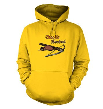 Cartoon Alignment Chaotic Neutral hoodie