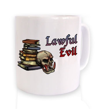 Cartoon Alignment Lawful Evil mug