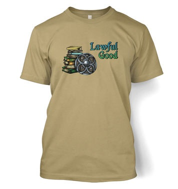 Cartoon Alignment Lawful Good t-shirt