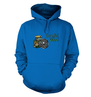 Cartoon Alignment Lawful Good hoodie