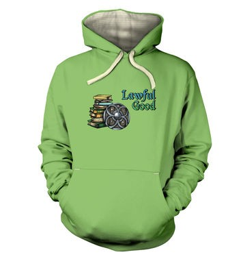 Cartoon Alignment Lawful Good premium hoodie