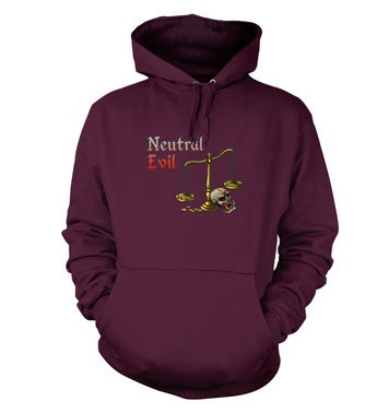 Cartoon Alignment Neutral Evil hoodie