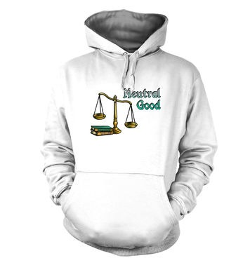 Cartoon Alignment Neutral Good hoodie