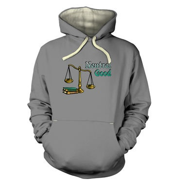 Cartoon Alignment Neutral Good premium hoodie