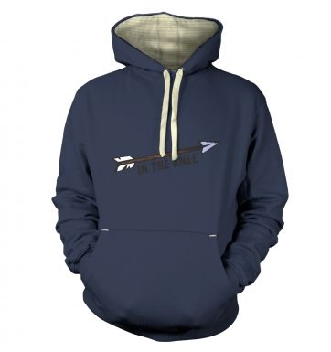Cartoon Arrow In The Knee  hoodie (premium)