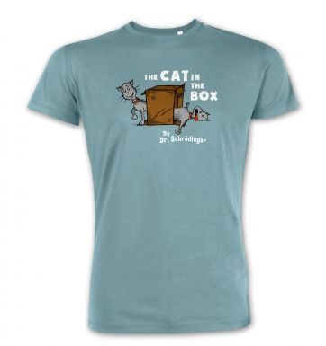 Cat In The Box Dr Schrodinger premium t-shirt