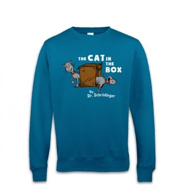 Cat In The Box Dr Schrodinger sweatshirt