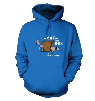 Cat In The Box Dr Schrodinger hoodie