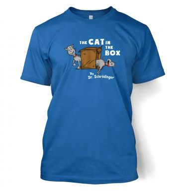 Cat In The Box Dr Schrodinger t-shirt