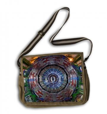 CERN CMS messenger bag