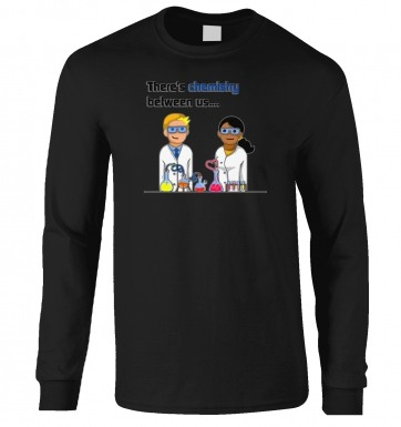 Chemistry Between Us long-sleeved tshirt