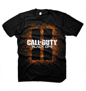 COD Black Ops II Splash Logo t-shirt