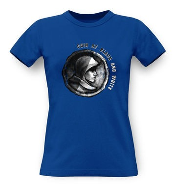 Coin Of Black And White classic womens t-shirt
