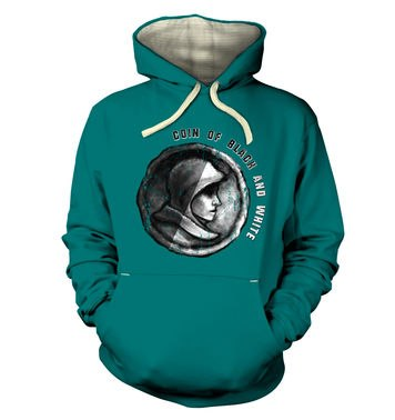 Coin Of Black And White premium hoodie