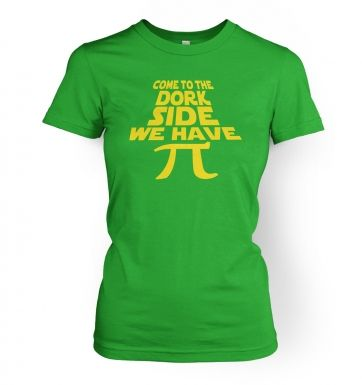 Come To The Dork Side women's t-shirt