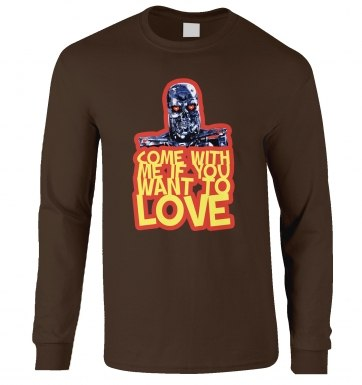 Come With Me If You Want To LOVE long-sleeved t-shirt