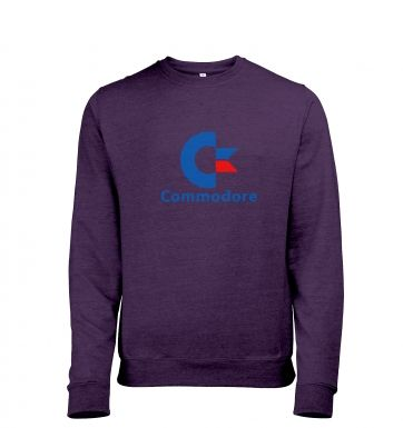 Commodore Logo heather sweatshirt