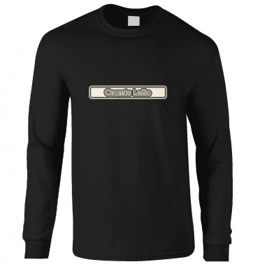 Cosmic Latte Outline long-sleeved t-shirt