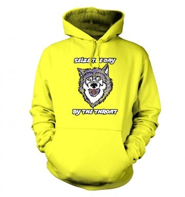 Courage Wolf hoodie