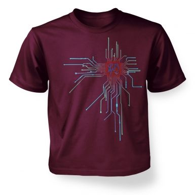 CPU Heart kids' t-shirt