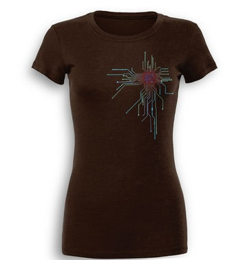 CPU Heart premium women's t-shirt