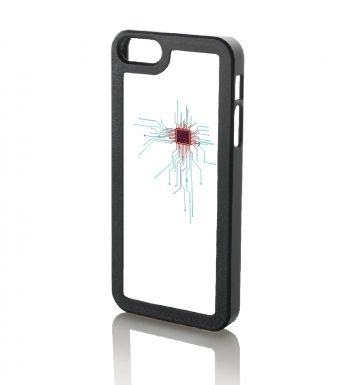 CPU Heart White Apple iPhone 5 & iPhone 5s case