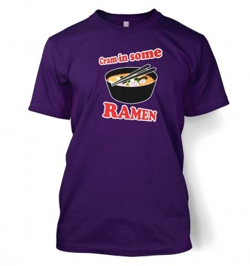 Cram In Some Ramen  t-shirt
