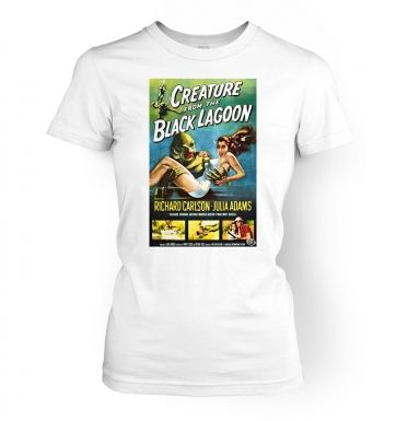 Creature From The Black Lagoon  womens t-shirt