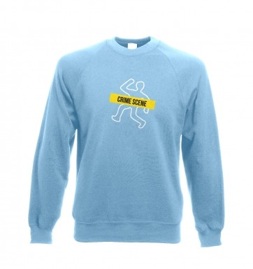 Crime Scene sweatshirt