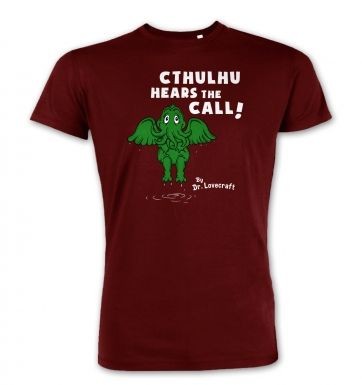 Cthulhu Hears The Call Dr Lovecraft premium t-shirt