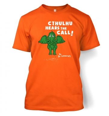 Cthulhu Hears The Call Dr Lovecraft t-shirt