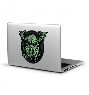 Cthulhu Is Angry laptop sticker