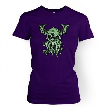 Cthulhu Is Angry women's t-shirt
