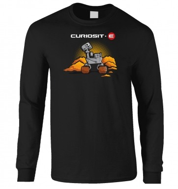 Curiosit-e long-sleeved t-shirt