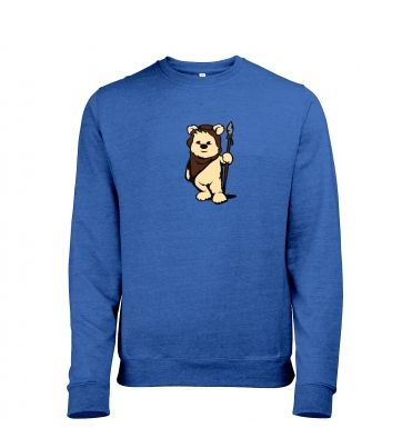 Cute Ewok heather sweatshirt