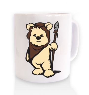 Cute Ewok ceramic coffee mug
