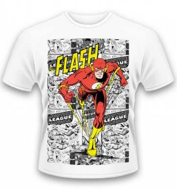 DC Originals Comic Strip The Flash t-shirt