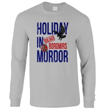 Dead Boromirs Holiday In Mordor long-sleeved t-shirt