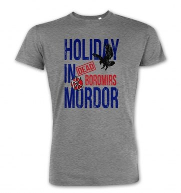 Dead Boromirs Holiday In Mordor premium t-shirt