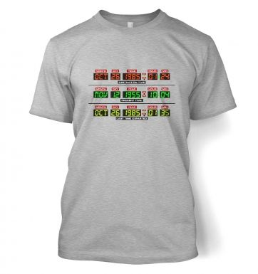 Delorean Dashboard t-shirt