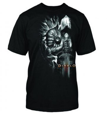 Diablo III Tyrael Side t-shirt - OFFICIAL